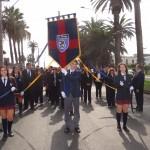 Impecable presentación del Colegio San Jorge en Desfile Aniversario
