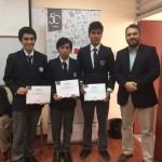 Alumnos del Colegio San Jorge obtienen Primer Lugar en Olimpiada de Matemática