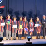 Ceremonia de Licenciatura de los alumnos de IV Medio