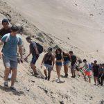 Terceros medios realizan salida a terreno a la localidad de Pisagua