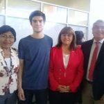 Estudiante logra puntajes regionales en PSU